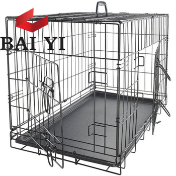 "BAIYI Brand 20"", 24"", 30"", 36"", 42"", 48"" Pet Dog Crate Cage Wholesale"