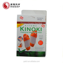 sale product Original factory health care Kinoki detox foot patch natural detox pad