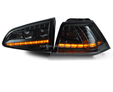 LED Tail Lamp Smoke Black Color 12-UP Year For VOLKSWAGEN Golf 7