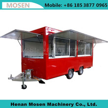 Street Mobile Food Warmer Cart/Crepe Food Truck/Concession Mobile Food Trailer For Sale