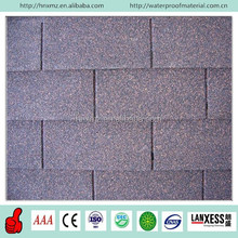 Factory Cheap Price Fiberglass Colored Asphalt Shingles for Roof
