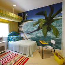 Printed Sea Landscape Photos Wallpaper Beautiful Wall Decoration Mural