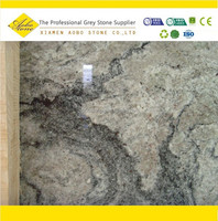 First choice countertop material white piracema granite slab