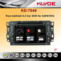 android 4.2 car dvd Pre-installed maps for chevrolet captiva car audio system