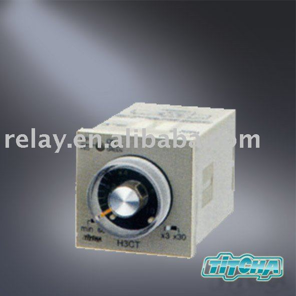Power ON delay Time relay timer H3CT-8