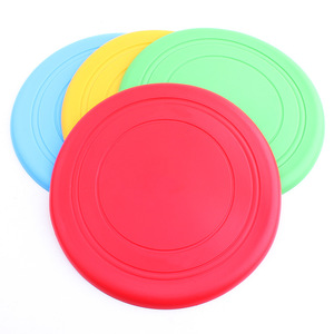 Soft Pet Silica Gel Flying Discs Dog Toys Training Frisbees Flying Disc Tooth Resistant