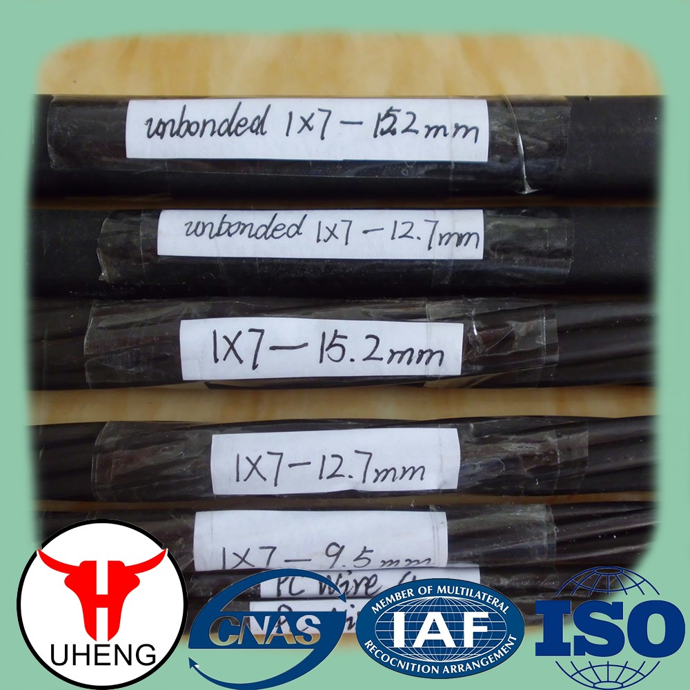Hot Sale!!! Top quality 7 wire pc steel strand by Tianjin Factory