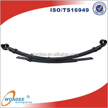 China Trailer Parts Leaf Spring in Suspension Trailer