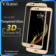 2017 Factory supply & free sample 9H tempered glass screen protector for LG K7 K10 screen guard