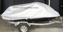 Silver Polyester Jet Ski Cover / PWC Cover