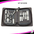 Classic 9pcs stainless steel Men's Manicure set