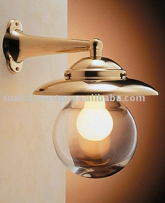 Polished Brass Light