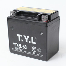 high quality battery TYL YTX5L-BS 12v 5AH wet charged MF lead acid battery for motorcycle start