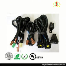 40Amp Relay 30Amp Fuse Laser Green FOG LIGHTS LED Lights On Off Rocker Switch LED Light Bar Wiring Harness