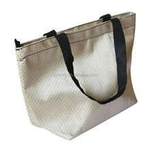 cheap fashion fold tote/ fashion printed peritoneal non woven bags/ best sale ultrasonic die cut non woven bags