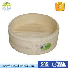 Non-stick cookware three layer steamer pots for dim sum food