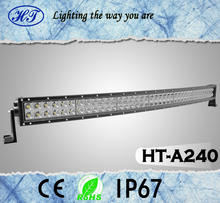 42inch 240w led light bar, double row straight 4wd tractor led light bar, 240 watt led lightbar