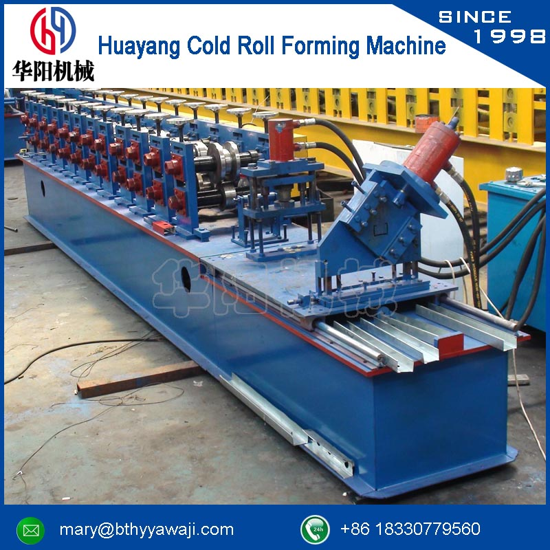 steel z section forming machine concrete material rolling equipment c purlin machine (hydraulic cutting)