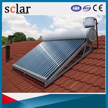 Hot Sale 150L Heat Pipe Low Pressure Heaternon-Pressurized Non-Pressurized Solar Water Heater For Home
