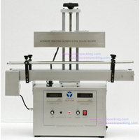 Small size automatic sealing machine for bottles