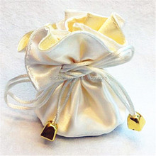 wedding favour satin bags /gift bag
