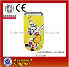 Promotional Items Mobile Phone Sock with Lanyard Wholesale