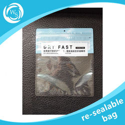 custom plastic resealable bags for chicken feet