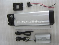 Lithium rechargeable 36V 10AH battery ebike 500w electric bike kit accu