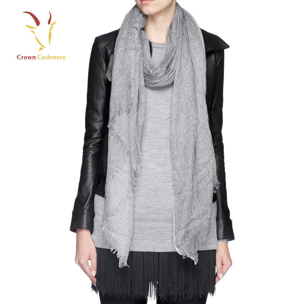 Fashion Lady Solid Color Shawl and Scarves Pashmina 2016
