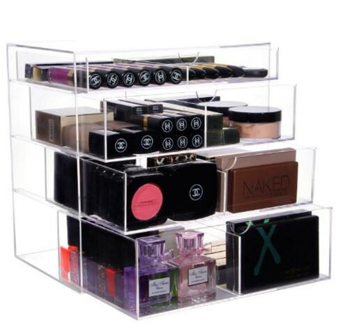 Makeup Cosmetics Organizer Clear acrylic make up storage