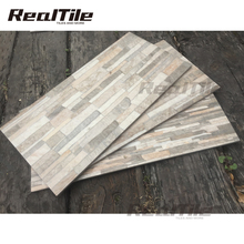 300x600mm brick glazed porcelain exterior wall slate tile for home decoration