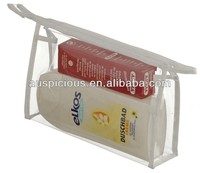 PVC hair extension pouch pvc toilet bag