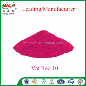 Vat Red 10/Vat dye Red FBB/industrial fabric dye