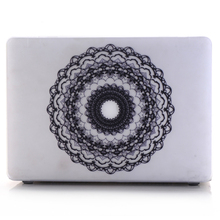 Custom Lace Pattern PC Hard Case Shell Cover Sleeve Skin for Macbook Air Pro Retina 11 12 13 15
