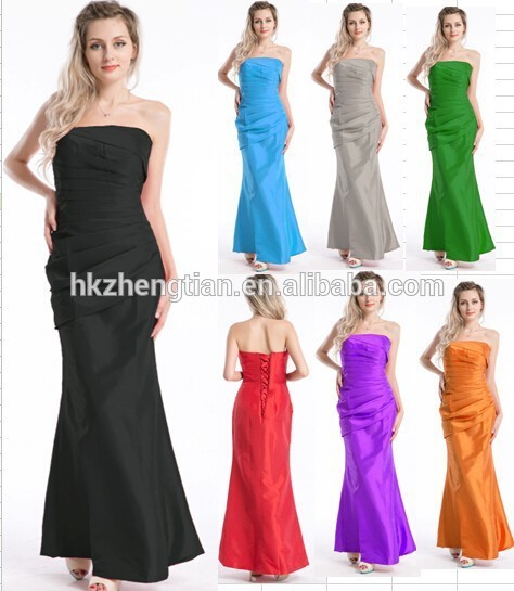 Clothes walson China factory New styles boob tube top hot sale sey evening dress glaze dress S-6L 7 color