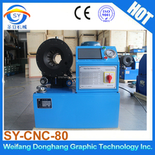2016 New model Digital control SY-CNC-80 hydraulic hose crimping machine for sale in Internetion Market