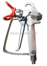 High quality stainless steel airless paint spray gun for home and renovation
