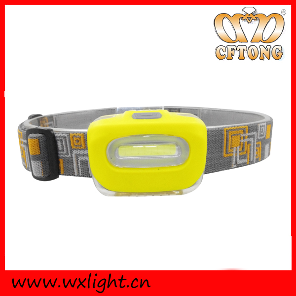 3W Powerful Camping Plastic Led Headlamp Best Waterproof Headlamp