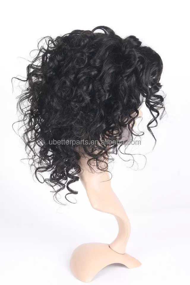 Silk Top Indian Women Hair Wigs,100% Human Hair Full Lace Wig