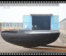 wuhan linmei Aluminum hot formed forged ASME carbon steel/stainless steel tank dished head