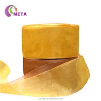 Wholesale Cheaper Sheer Purple Organza Ribbon