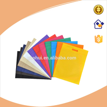 Many colors Die-cut non-woven punch promotional bag,many kinds of colors non woven advertising bag, blank punching bag