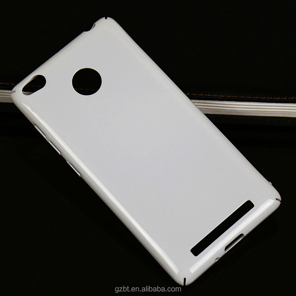 Slim Glossy Hard Plastic Back Case Cover Skin For Xiaomi Redmi 3S