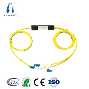 Fiber Optic 1x2 1310 1550 Fused wdm