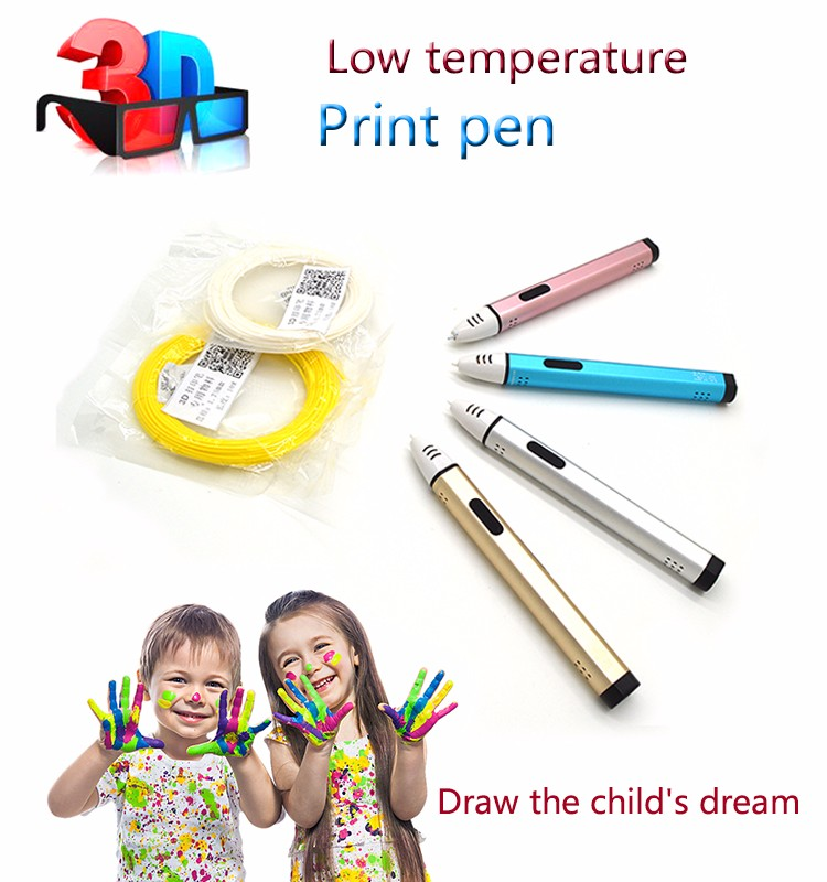 2017 Newest 3D Pen , Digital 3D Printer , 3D Printing Machine