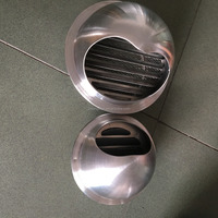 Stainless steel 304 high quality round waterproof air vent cap for ventilation vent cap