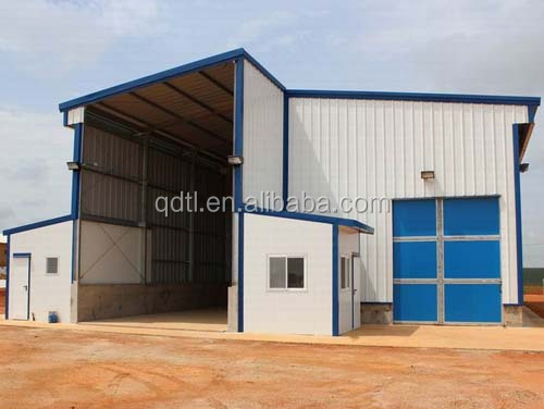 prefabricated steel frame workshorp