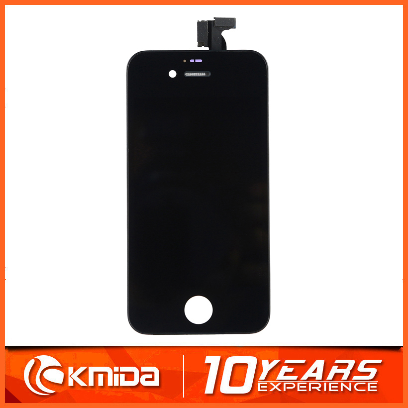 OEM black touch panel LCD touch screen for iphone 4s,glass screen protector for iphone 4s