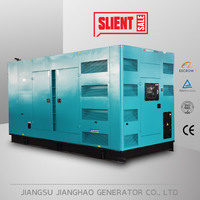 with cummins engine 600kw 750kva silent diesel generators for sale