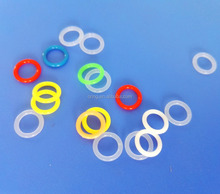 Varied Colored Clear Silicone Rubber O Ring